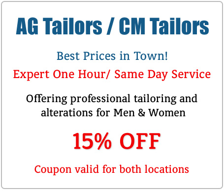 AG Tailors & Alterations - One Hour Alterations for Men & Women in Houston, TX